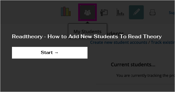 read theory student login