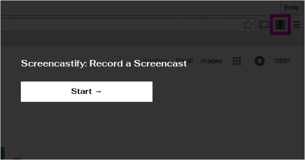 Screencastify: Record a Screencast